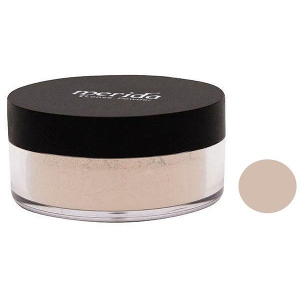 پودر تثبیت کننده آرایش مریدا مدل loose powdwr شماره 32