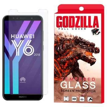 محافظ صفحه نمایش گودزیلا مدل GGS مناسب برای گوشی موبایل هوآوی Y6 2018 / Y6 Prime 2018
