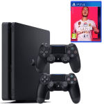مجموعه کنسول بازی سونی مدل Playstation 4 Slim ریجن 2 کد CUH-2216B ظرفیت 1 ترابایت thumb