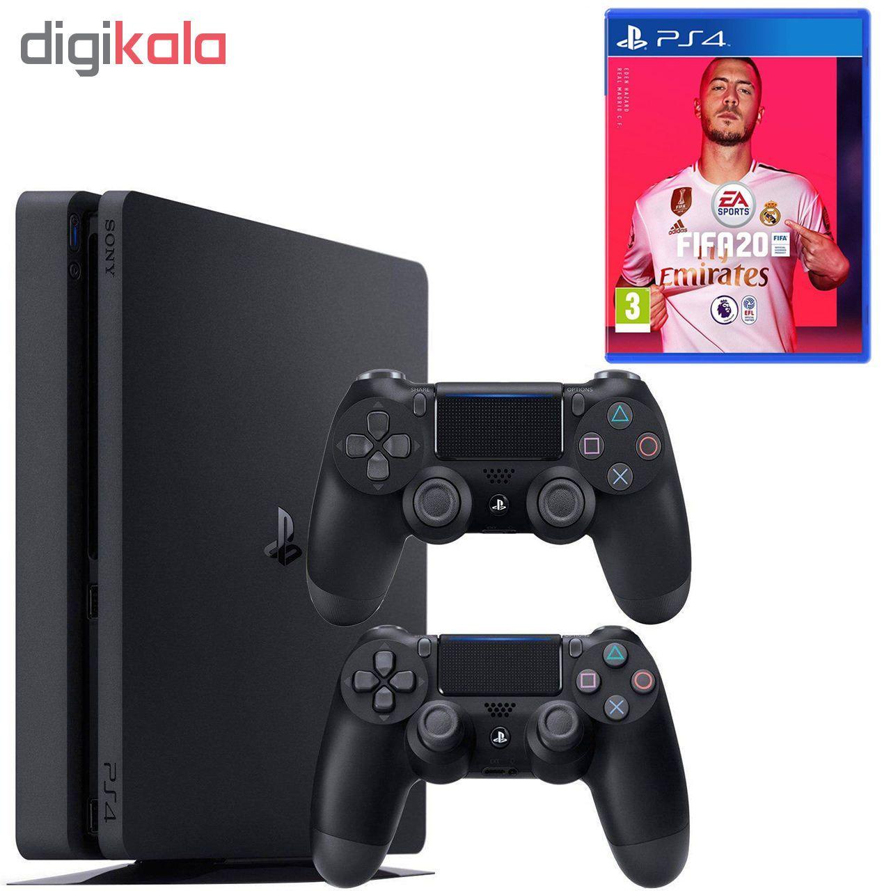 مجموعه کنسول بازی سونی مدل Playstation 4 Slim ریجن 2 کد CUH-2216B ظرفیت 1 ترابایت main 1 1