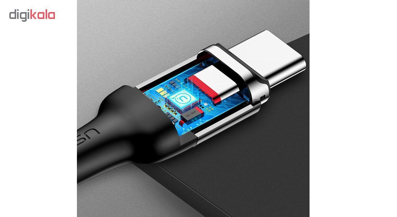 کابل تبدیل USB به USB-C یوسمز مدل US-SJ327 طول 1 متر main 1 3
