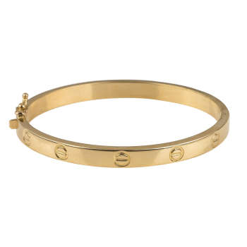 دستبند طلا 18عیار زنانه کد 2-B141