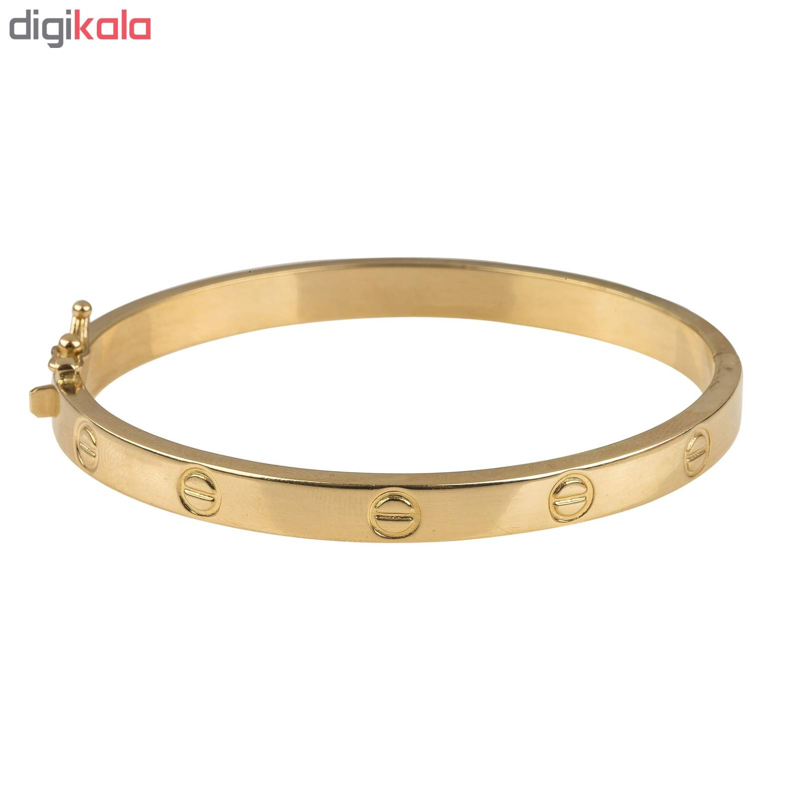 دستبند طلا 18عیار زنانه کد 2-B141 main 1 1