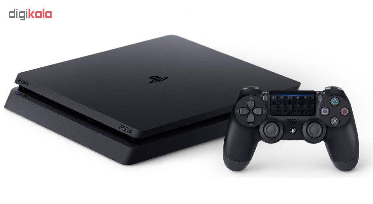 مجموعه کنسول بازی سونی مدل Playstation 4 Slim ریجن 2 کد CUH-2216A ظرفیت 500 گیگابایت