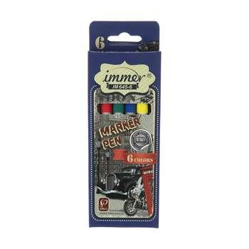 ماژیک 6 رنگ ایمر مدل JM645-6