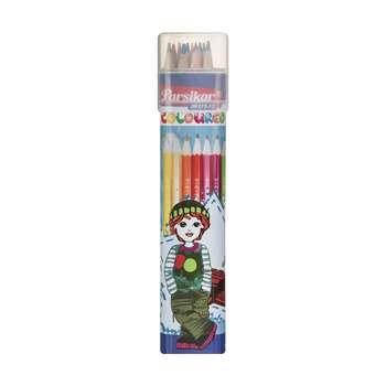 مداد رنگی 12 رنگ پارسیکار مدل JM875-12-3