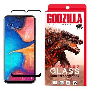 محافظ صفحه نمایش گودزیلا مدل GGF مناسب برای گوشی موبایل سامسونگ Galaxy A20