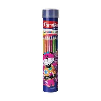 مداد رنگی 12 رنگ پارسیکار مدل JM870-12-3