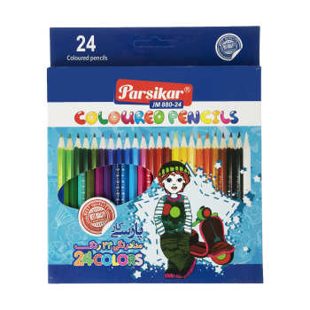 مداد رنگی 24 رنگ پارسیکار مدل JM 880-24