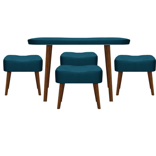 میز و صندلی ناهارخوری مدل kamja-1185 کد 313-2080