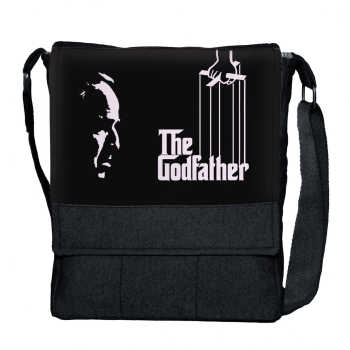 کیف دوشی گالری چی چاپ طرح The Godfather کد 65846
