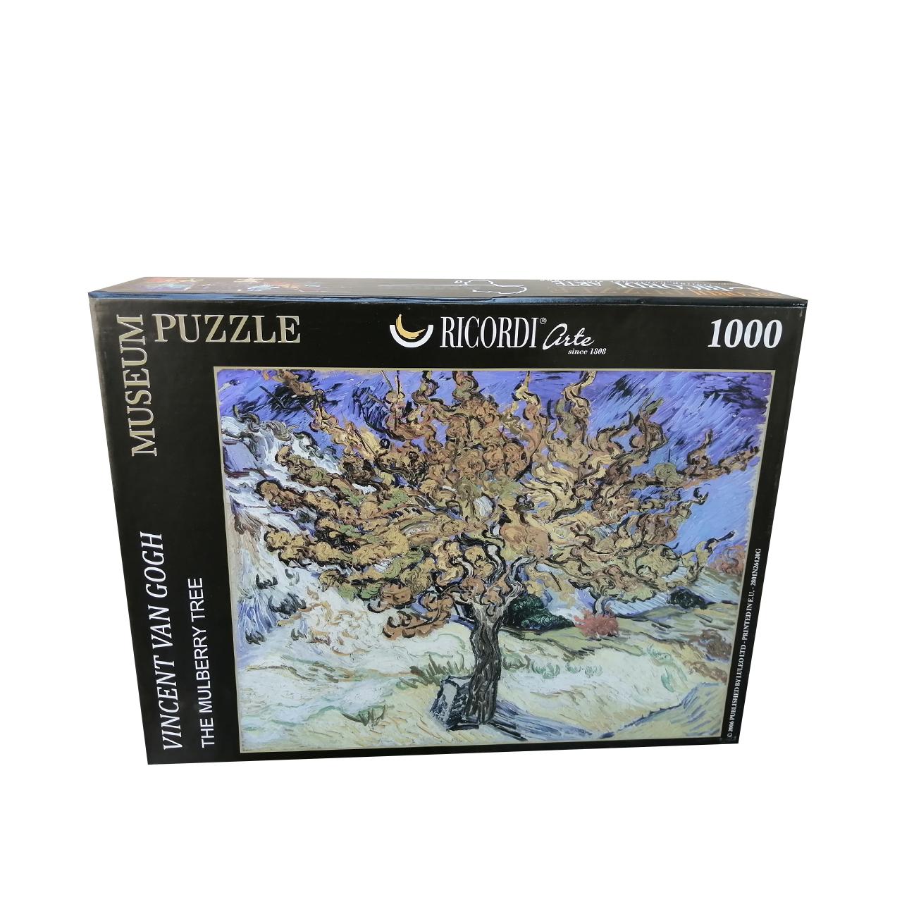 پازل 1000 تکه ریکوردی طرح درخت توت ونگوگ کد 390