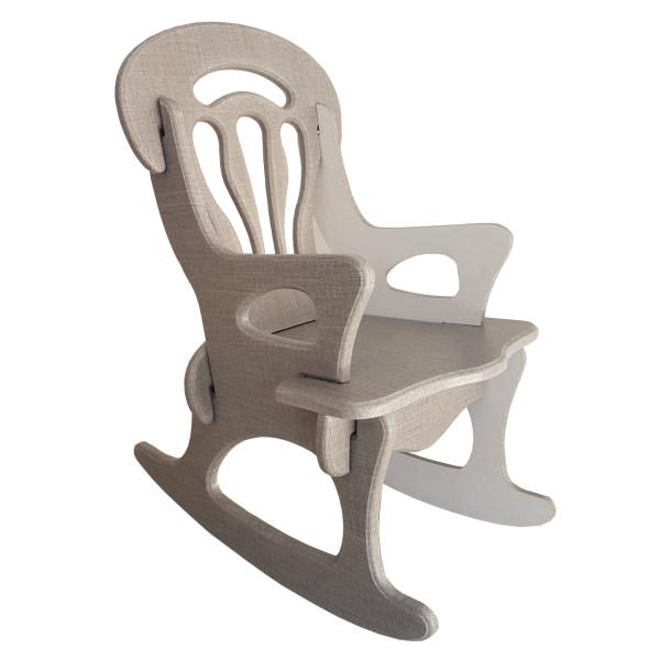 صندلی راک کودک طرح پازلی