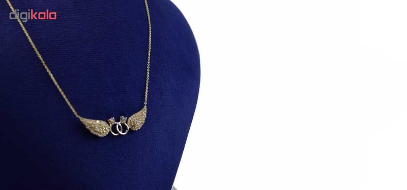 گردنبند طلا 18 عیار زنانه کانیار گالری کد GA10