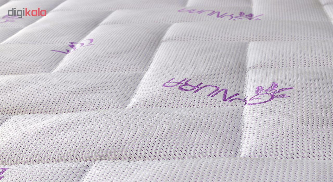 تشک ژینورا مدل Medical یک نفره سایز 200×90 سانتیمتر به همراه محافظ تشک main 1 2