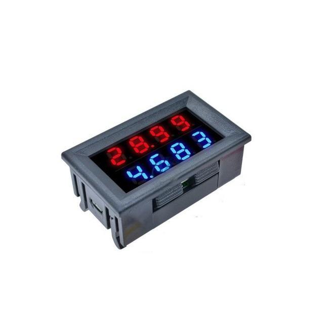 نمایشگر دیجیتال ولتاژ و جریان DC مدل 002