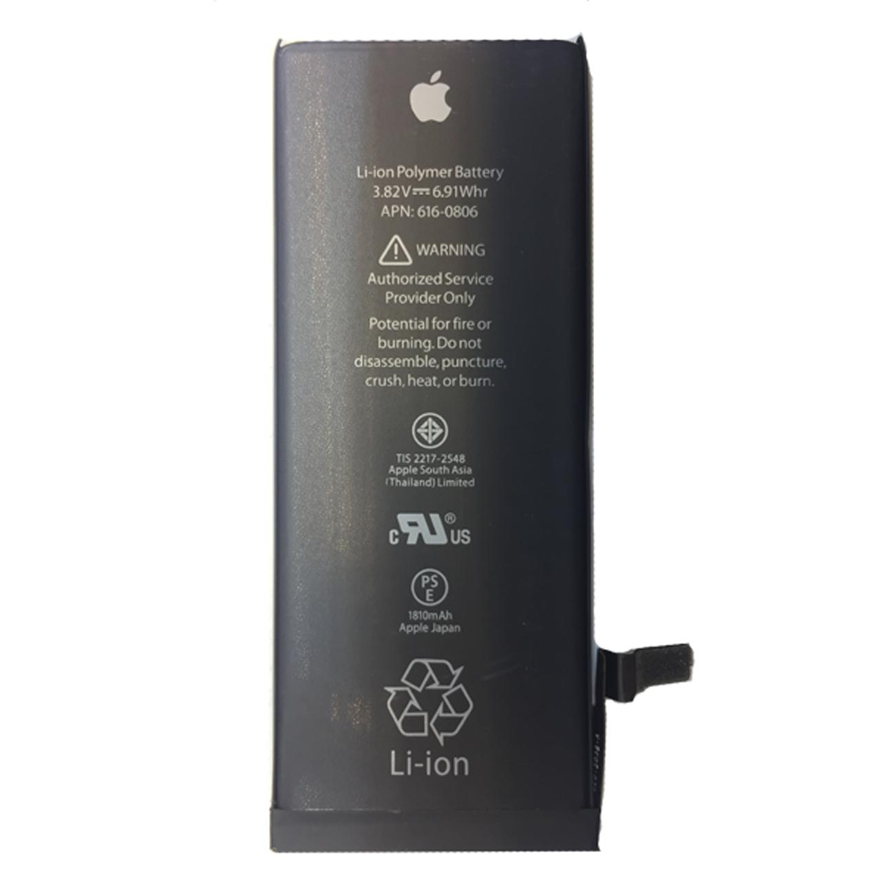 باتری موبایل مدل 0806-616 APN  ظرفیت 1810 میلی آمپر ساعت مناسب برای گوشی موبایل اپل  iphone 6