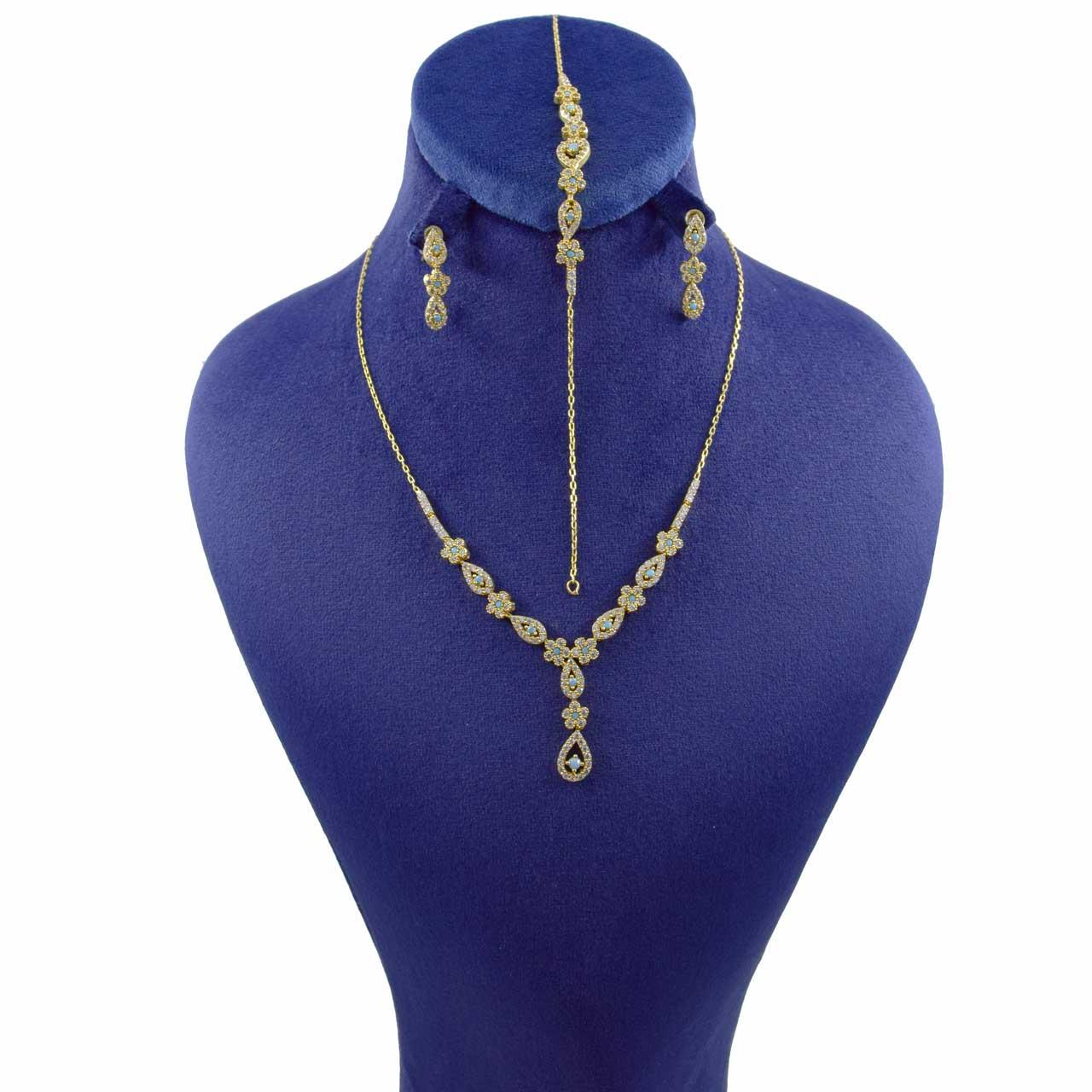 نیم ست طلا 18 عیار زنانه کانیار گالری کد SET11