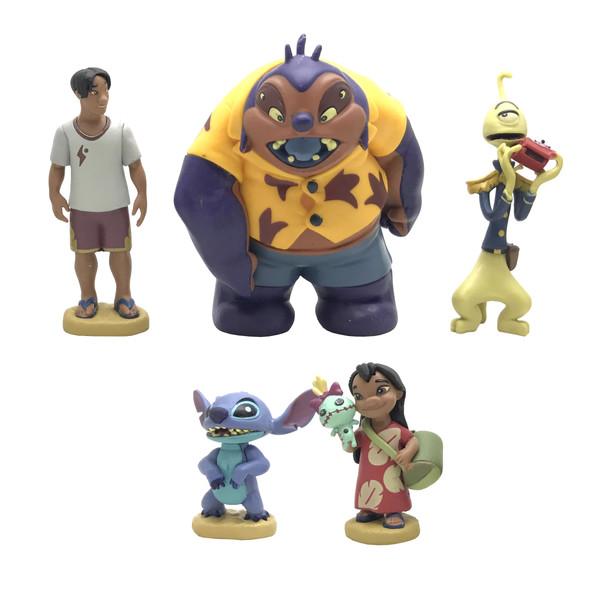 فیگور طرح Lilo - Stitch مجموعه 5 عددی