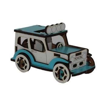 ماکت دکوری طرح ماشین مدل جیپ