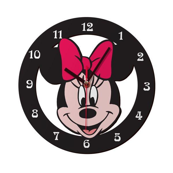 ساعت دیواری کودک ژیوار طرح  Minnie mouse