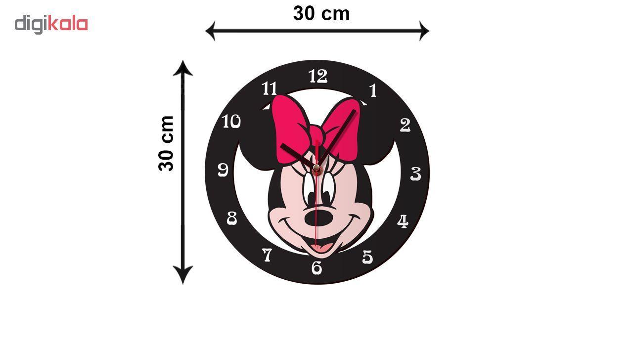 ساعت دیواری کودک ژیوار طرح  Minnie mouse main 1 2