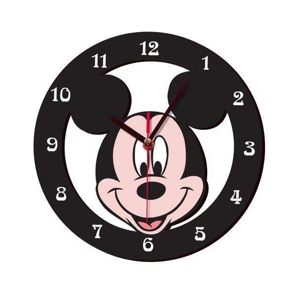 ساعت دیواری کودک ژیوار طرح mickey mouse
