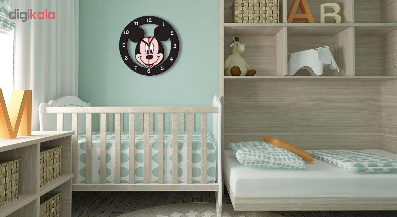 ساعت دیواری کودک ژیوار طرح mickey mouse main 1 1