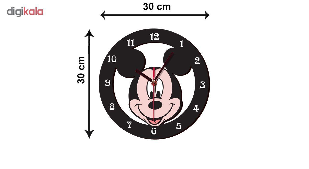 ساعت دیواری کودک ژیوار طرح mickey mouse main 1 2