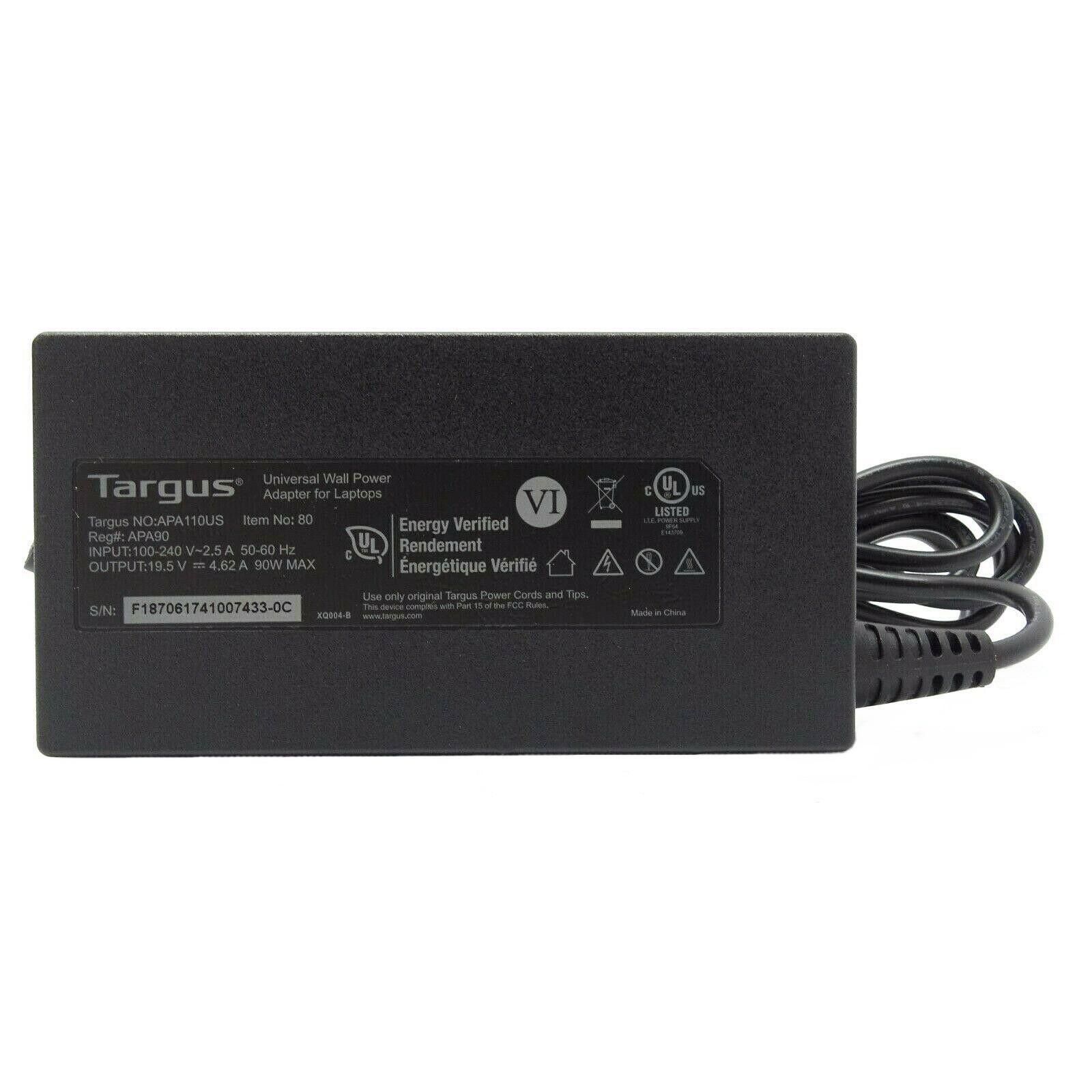 شارژر لپ تاپ 19.5 ولت 4.62 آمپر تارگوس مدل APA110US