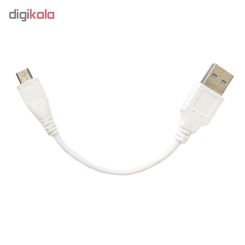 کابل تبدیل USB به microUSB مدل B-01  طول 0.15 متر main 1 2