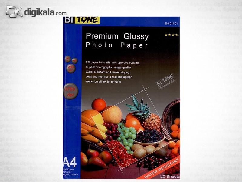 قیمت                      کاغد عکس گلاسه بای تون مدل 26001401
