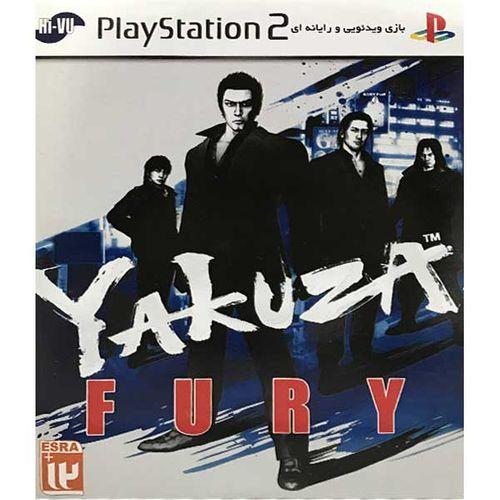 بازی yakuza fury مخصوص ps2