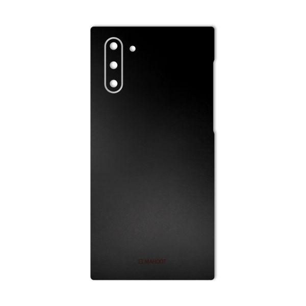 برچسب پوششی ماهوت مدل Black-Color-Shades مناسب برای گوشی موبایل سامسونگ Galaxy Note 10