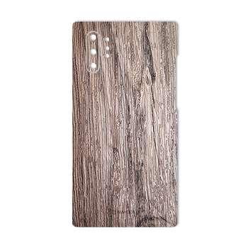 برچسب پوششی ماهوت مدل Walnut-Texture مناسب برای گوشی موبایل سامسونگ Galaxy Note10 Plus