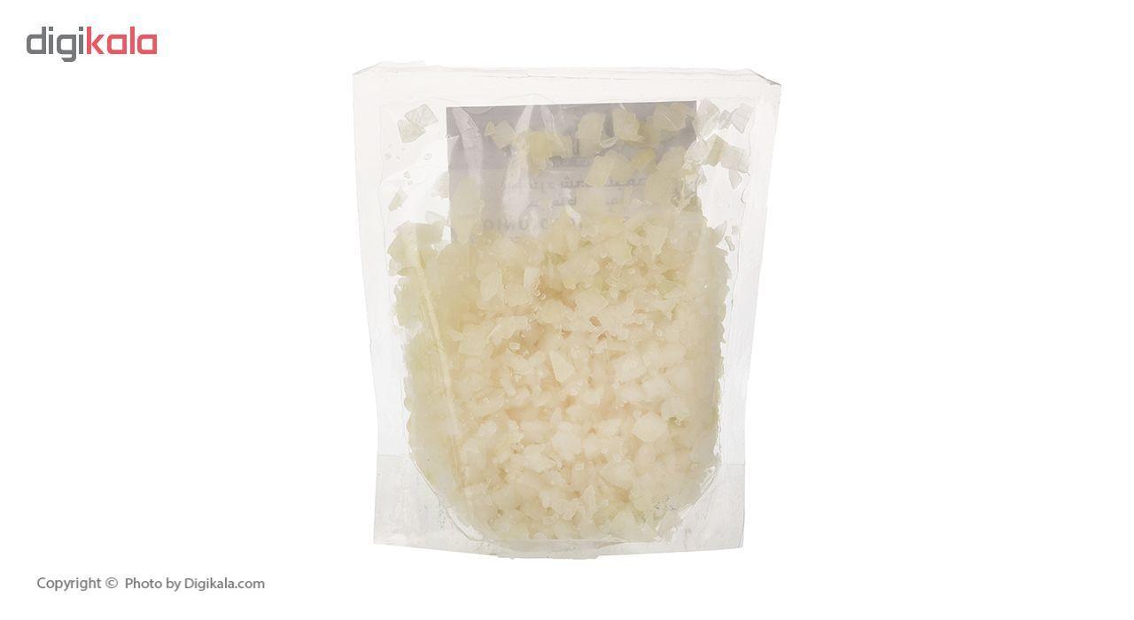 پیاز خرد شده منجمد نوبر سبز مقدار 400 گرم main 1 3