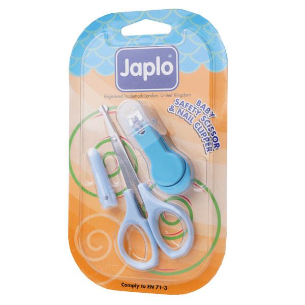 ست قیچی و ناخن گیر نوزاد جاپلو مدل j400