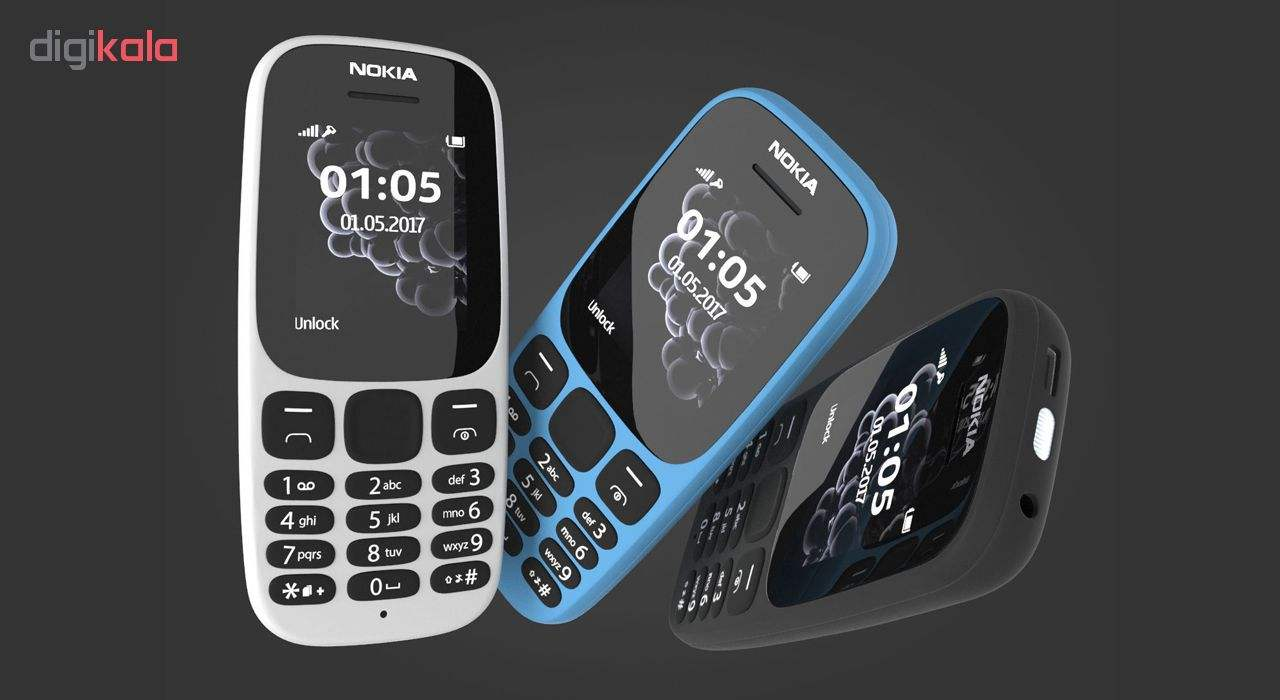 گوشی موبایل نوکیا مدل 105 (2017) دو سیم کارت main 1 10