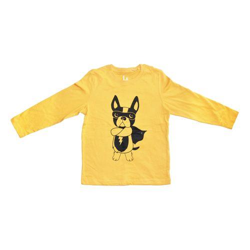 تی شرت آستین بلند طرح Hero Dog