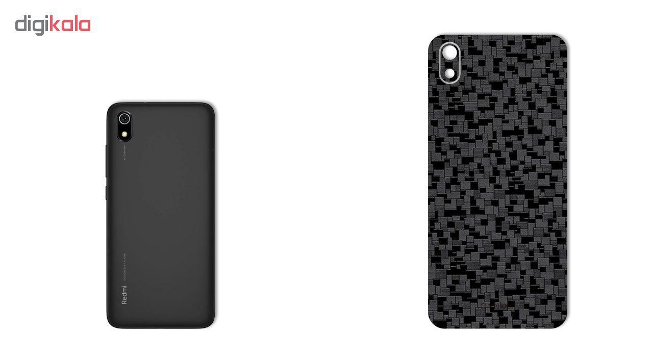 برچسب پوششی ماهوت مدل Silicon-Texture مناسب برای گوشی موبایل شیائومی Redmi 7A main 1 1