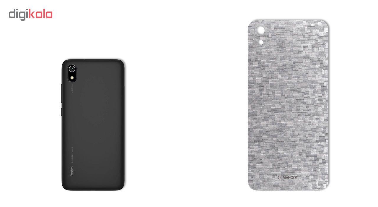 برچسب پوششی ماهوت مدل Silicon-Texture مناسب برای گوشی موبایل شیائومی Redmi 7A main 1 2