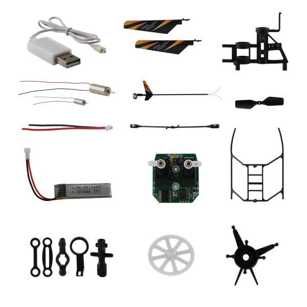 قطعات یدکی هلیکوپتر مدل  H4  بسته 20 عددی