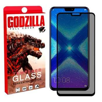 محافظ صفحه نمایش حریم شخصی گودزیلا مدل GGP مناسب برای گوشی موبایل آنر 8X