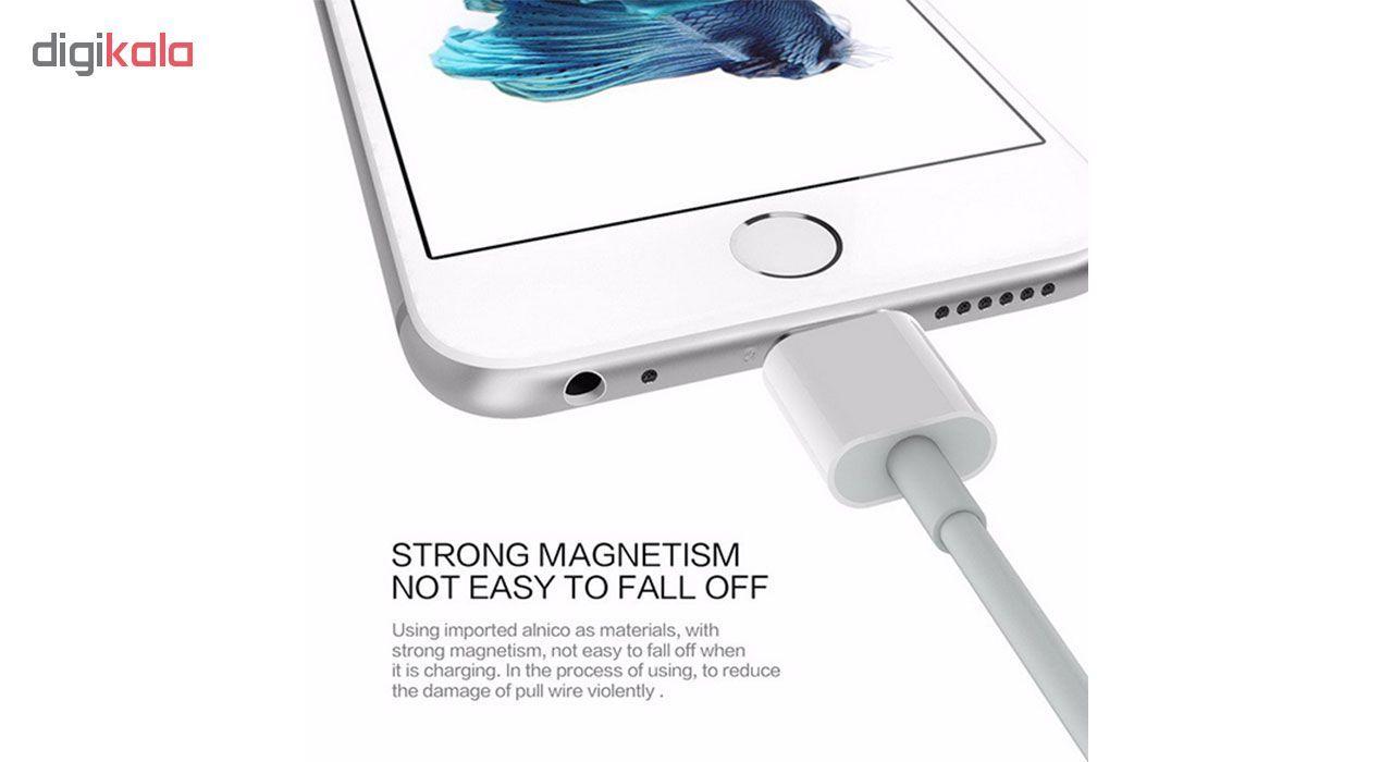 کابل تبدیل USB به لایتنینگ مدل fov85ke طول 1 متر main 1 2