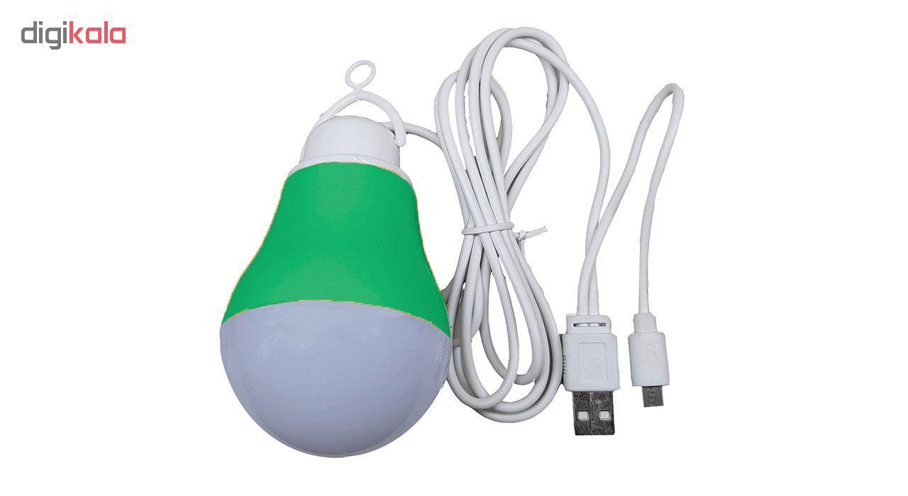 چراغ قوه آویز مدل USB-OTG main 1 5