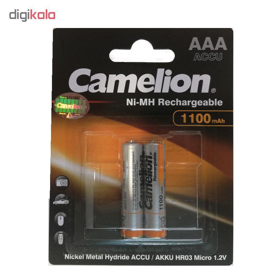 باتری نیم قلمی قابل شارژ کملیون مدل ACCU  بسته 2 عددی main 1 1