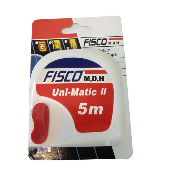 متر 5 متری فیسکو مدل Uni-Matic 2 بسته 12 عددی