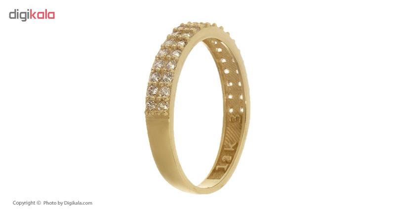 انگشتر طلا 18 عیار زنانه کانیار گالری کد AR1