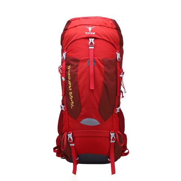 کوله پشتی کوهنوردی 65 لیتری پکینیو مدل wildguest