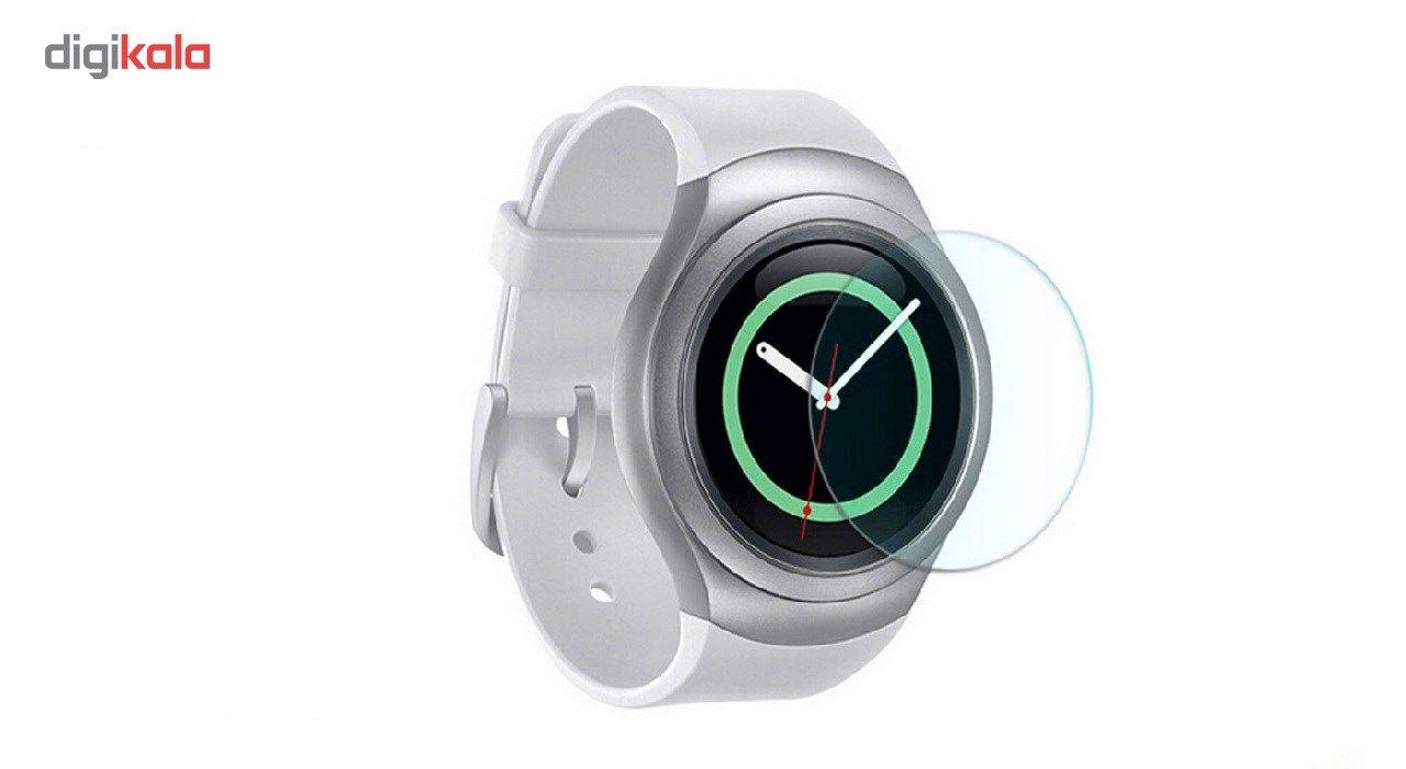محافظ صفحه نمایش شیشه ای مدل تمپرد مناسب برای ساعت های هوشمند سامسونگ مدل Gear S2 / Gear Sport main 1 1